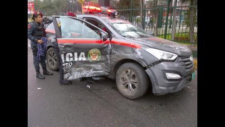 Inician rescate de policías fallecidos en accidente en Julcán