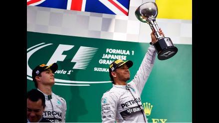 Fórmula Uno: Hamilton más líder que nunca tras ganar en el GP de Japón