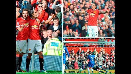 Manchester United y las mejores imágenes de su triunfo ante Everton