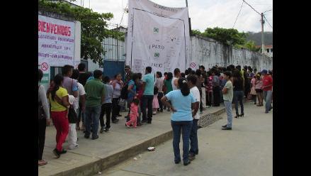 Satipo: impiden ingreso de periodistas a centro de votación