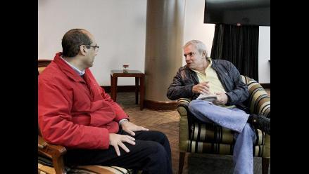 Candidatos a Alcaldía de Lima saludaron a Luis Castañeda