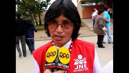 Junín: doscientos fiscales se desplegaron en 132 locales de votación
