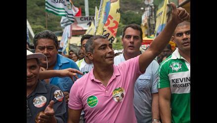 Romario gana por goleada y se convierte en senador brasileño