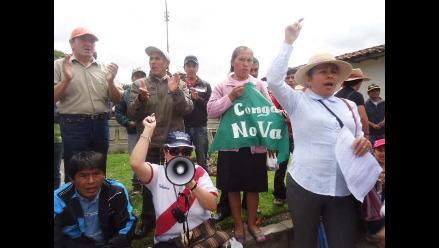 Accionistas del proyecto minero Conga evalúan situación en Cajamarca