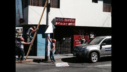 Arequipa: dan 60 días de plazo para retirar propaganda electoral