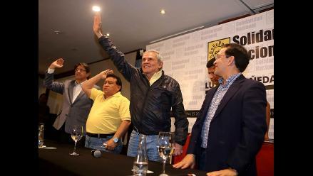 Apra anuncia que ´apoyará y colaborará´ con la gestión de Luis Castañeda