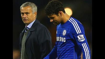 Diego Costa lamenta estar ´en medio´ de Mourinho y Del Bosque