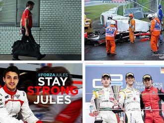 Pilotos piden a Jules Bianchi que siga luchando desde sus cuentas de twitter