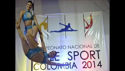 Colombia: Sensual concurso de Pole Dance en Medellín