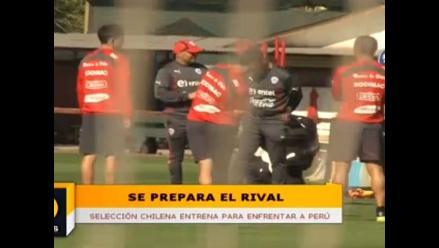 Chile vs. Perú: Así entrenó la ´Roja´ para amistoso ante la bicolor