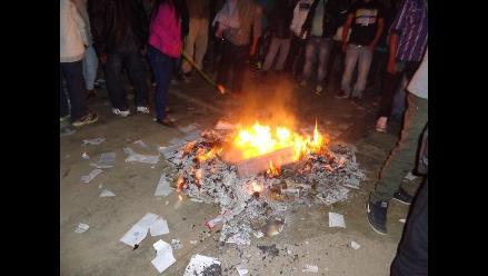 Gran Chimú: violencia en Lucma por resultados electorales