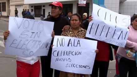 Pucusana: Fiscalía investigará presunto fraude en voto electrónico