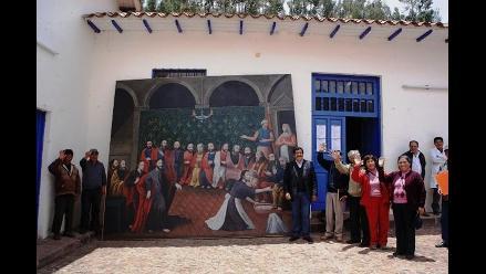 Cusco: restauran lienzo perteneciente a templo de Acomayo