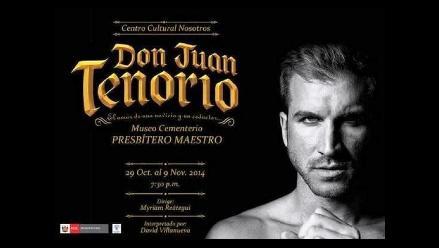 Obra teatral 'Don Juan Tenorio' regresa al Cementerio Presbítero Maestro