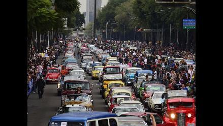 Récord Guinness de mayor cantidad de autos antiguos se rompió en México