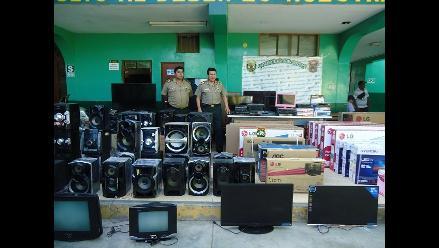 Apurímac: cae banda que robaba electrodomésticos en Andahuaylas