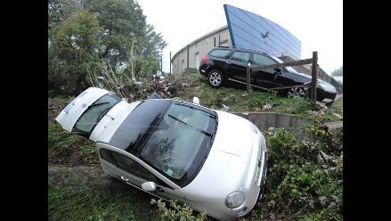 Francia: Torrencial lluvia provocó inundación en la ciudad de Montpellier
