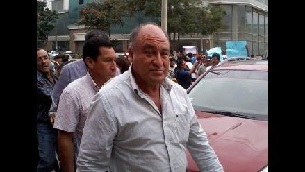 Alcalde de Chiclayo es trasladado a la carceleta del PJ