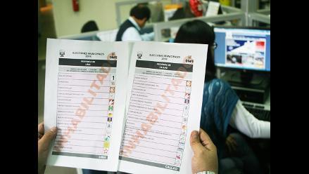Puno: procesan 222 actas observadas de cuatro provincias