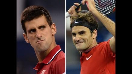 Roger Federer y Novak Djokovic avanzan en el Masters 1000 de Shanghai