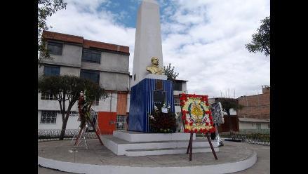Cajamarca: Miguel Grau recibe merecido homenaje por autoridades