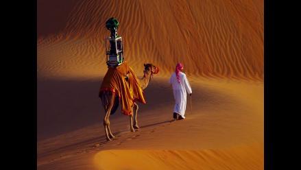 Street View de Google en el desierto se hizo con un camello y se ve así