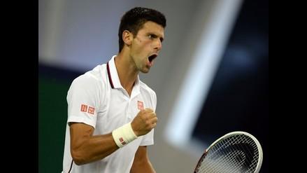 Novak Djokovic sufrió para vencer a Kukushkin en el Masters de Shanghai