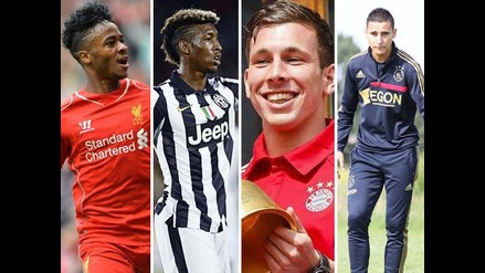 Conoce a las diez más grandes jóvenes promesas de la Champions League
