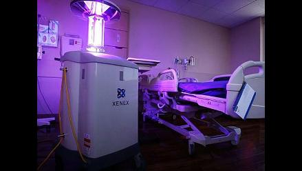 Los robots que usa EEUU para desinfectar hospitales con ébola