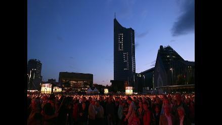 Alemania celebra 25 años de las marchas previas a la caída del muro