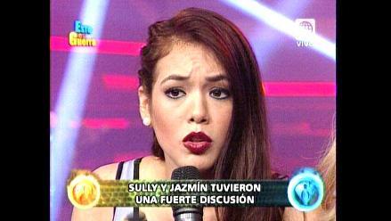 EEG: Jazmín Pinedo pidió disculpas públicas a Sully Sáenz