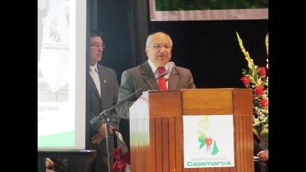 Cajamarca: actual presidente regional reafirma que ´Conga es inviable´