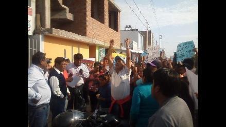 Lambayeque: ciudadanos piden nuevas elecciones en Motupe