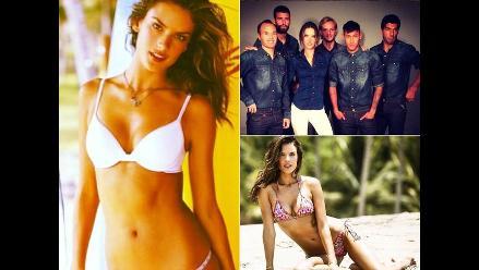 La sexy modelo Alexandra Ambrossio y Neymar en infartante comercial