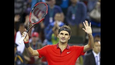 Roger Federer derrotó a Bennetau y espera a Novak Djokovic en Shanghai