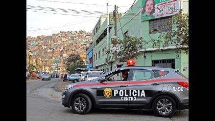 Cerro San Cosme contará con siete patrulleros más para dar seguridad