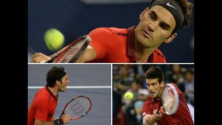 Revive la victoria de Roger Federer ante Novak Djokovic en Shanghai