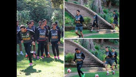 Selección Peruana entrenó en Chile pensando ahora en Guatemala