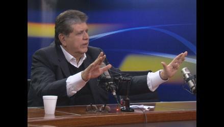 Alan García no ve delito en el caso de Aurelio Pastor
