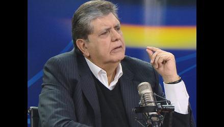 Alan García sobre posible candidatura al 2016: ´Está en veremos´