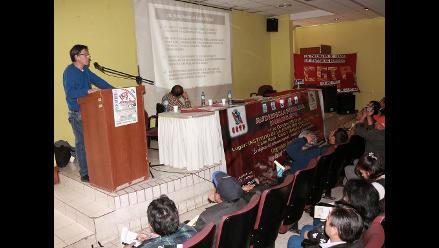 Huancayo: sindicatos nacionales se reúnen contra privatización