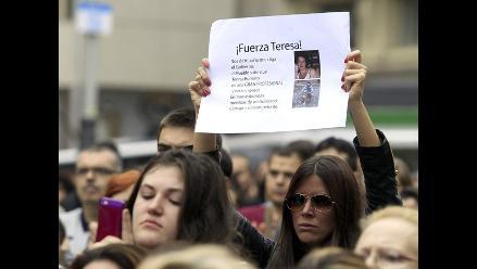 España: marchan en apoyo a la enfermera contagiada de ébola