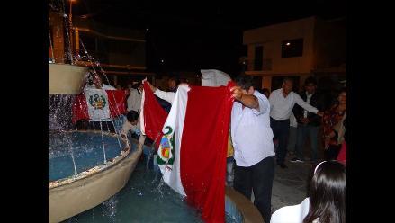 Ica: pobladores realizan marcha por la democracia tras elecciones