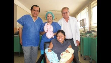 Chiclayo: nacen trillizos en hospital Almanzor Aguinaga