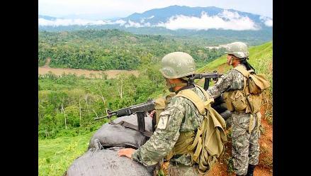 Ayacucho: terroristas y Ejército se enfrentan tras emboscada