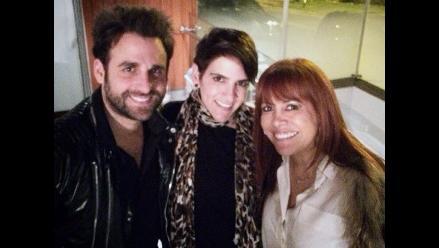 Gigi Mitre celebró su cumpleaños junto a ´Peluchín´ y Magaly