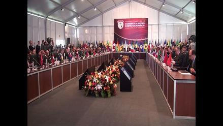 Arequipa: Ollanta Humala inauguró conferencia de ministros de Defensa