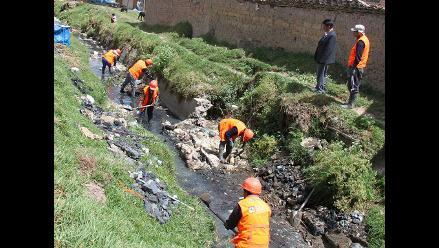 Huancayo: retiran más de 15 toneladas de basura y desmonte de río