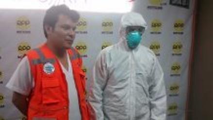 Chimbote: ciudadano extranjero pasó controles sanitarios