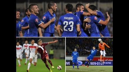 Italia y Croacia siguen firmes en las Eliminatorias a la Euro 2016